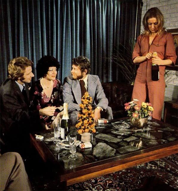 Вечеринки в 1970-х годах (33 фото)