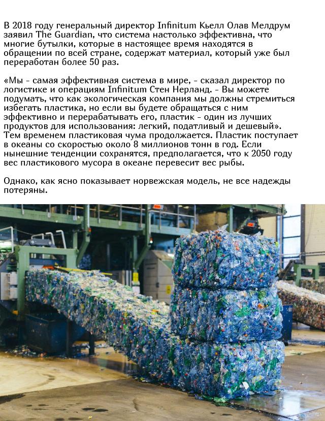 Как в Норвегии перерабатывают почти 97% всех пластиковых бутылок (3 фото)