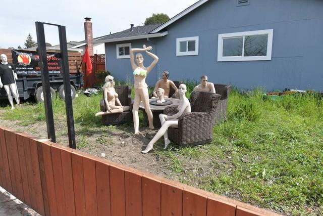 """Необычная месть соседям, которые пожаловались на """"слишком высокий забор"""" (12 фото)"""