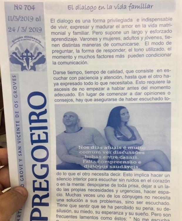 Священники напечатали религиозные брошюры с фотографией актеров из фильмов для взрослых (2 фото)