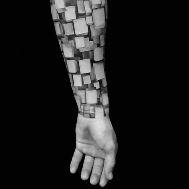Реалистичные 3D-татуировки (42 фото)