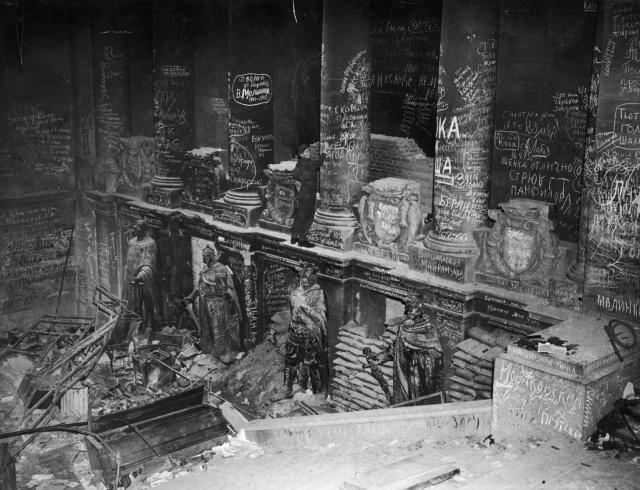Разрушенный Берлин  фотографии 1945 года (30 фото)