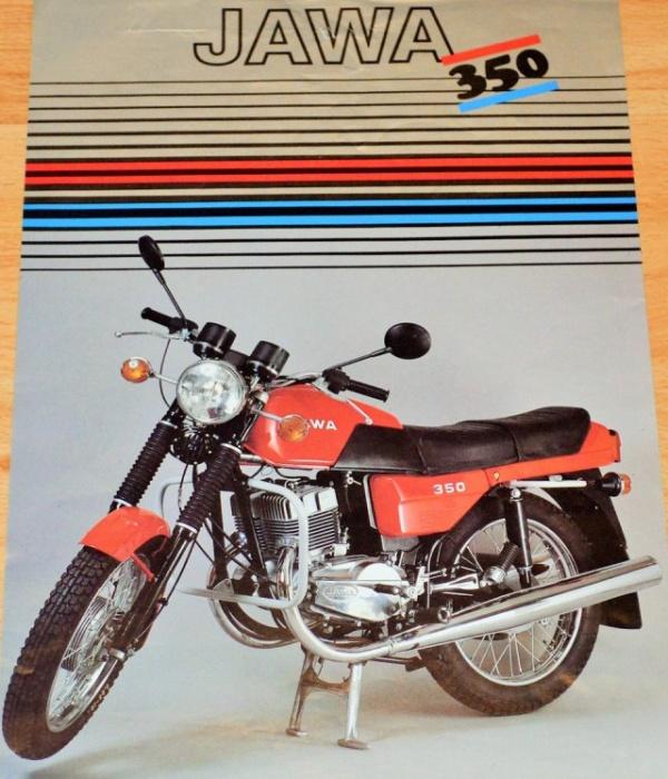 Новенькая Jawa 350/638, которая простояла в квартире 30 лет (14 фото)