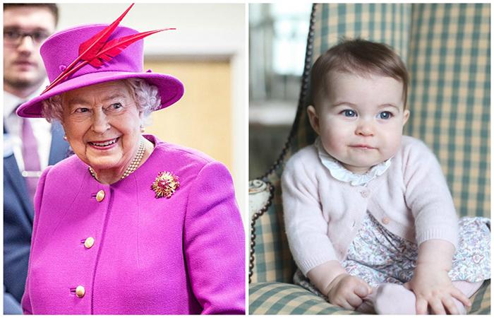 Что унаследовала юная принцесса Шарлотта от своей прабабушки королевы Елизаветы II