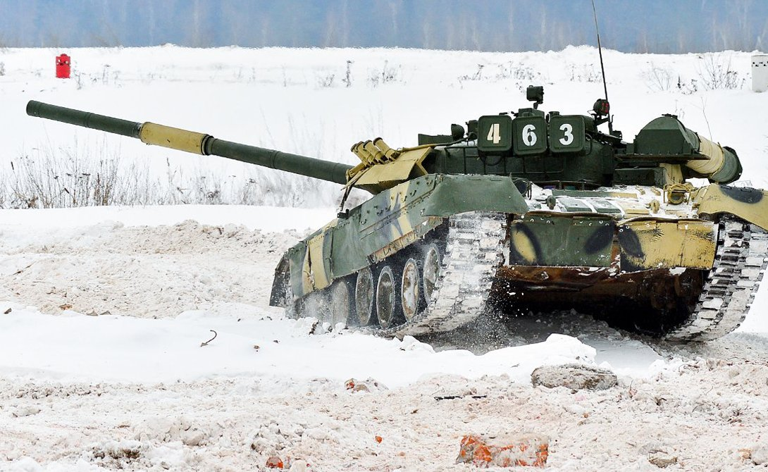 Ударные танки российской армии
