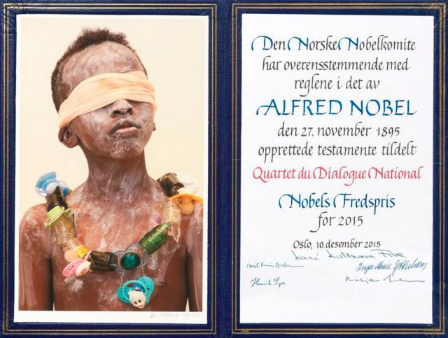 Что скрывает обложка диплома Нобелевского лауреата?