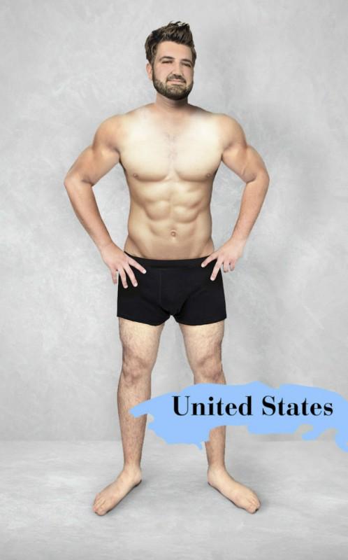 Мужские стандарты красоты в разных странах