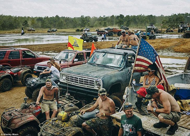 Отдых простых американцев