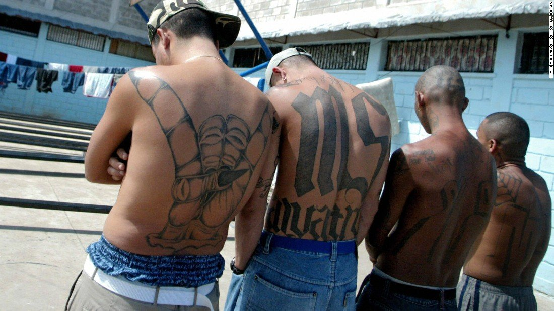 Тюрьма Гондураса с членами известных банд
