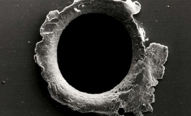 НАСА показали, какая сила у метеорита размером с песчинку