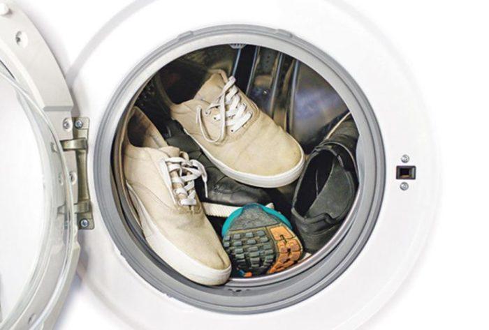 Правила стирки обуви в машинке-автомат